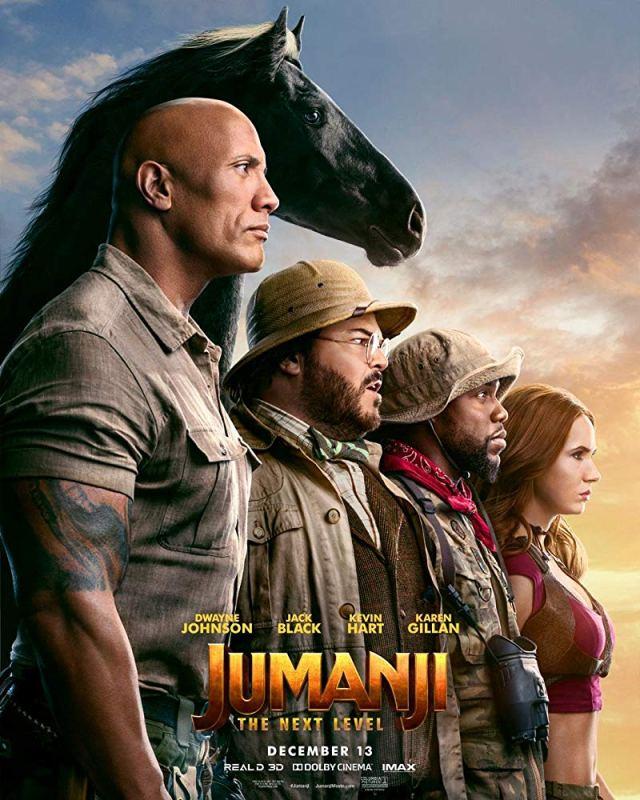 Jumanji: The Next Level Screening