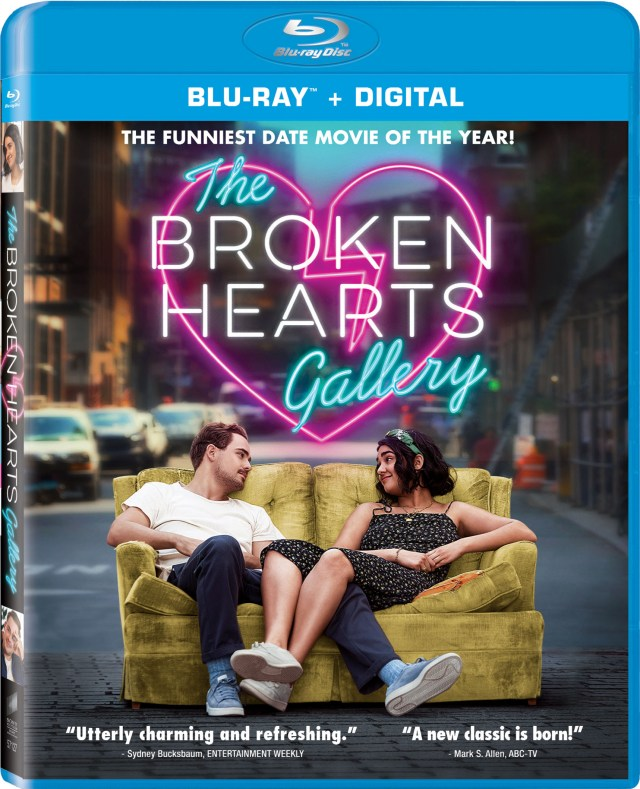 The Broken Hearts Gallery DVD