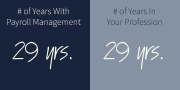 Number-of-Years-at Payroll Management Chris Hemenway
