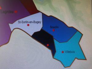 Paysages de la commune de Villebois