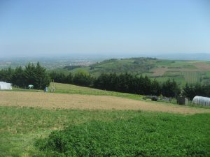 Paysages des communes de Chaussan et de Saint-Sorlin
