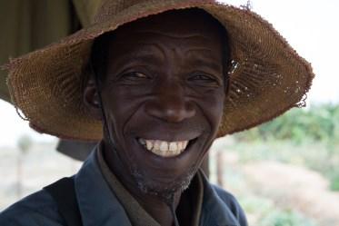 Maraîcher à Woudourou près de Matam - Sénégal