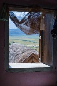 Vue de la fenêtre d'un agriculteur de Fianaranstoa