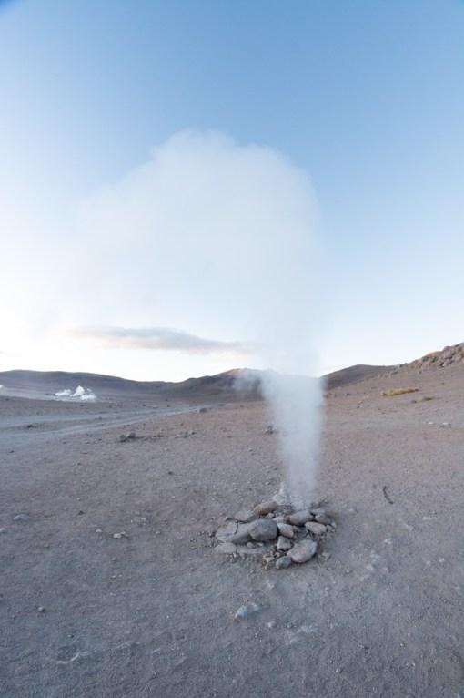 Uyuni - un petit geyser