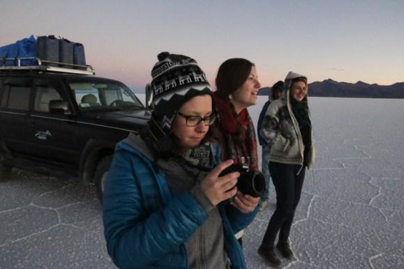 Uyuni - Bien préparer ses réglages pour prendre en photo le magnifique coucher de soleil sur le salar de Uyuni