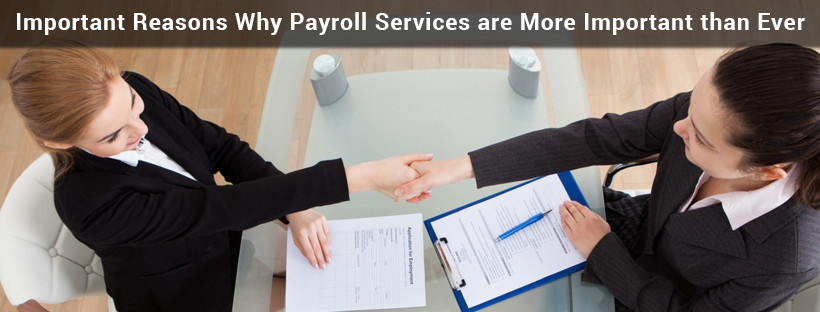 Read more about the article Important Reasons Why Payroll Services are More Important than Ever