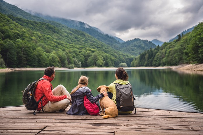 Spend your money on experiences and time with family