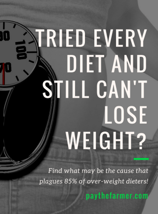 tried every diet and still can't lose weight?