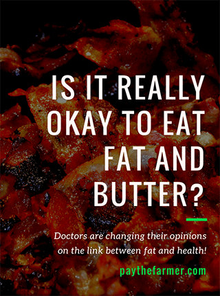 Is it ok to eat fat and butter