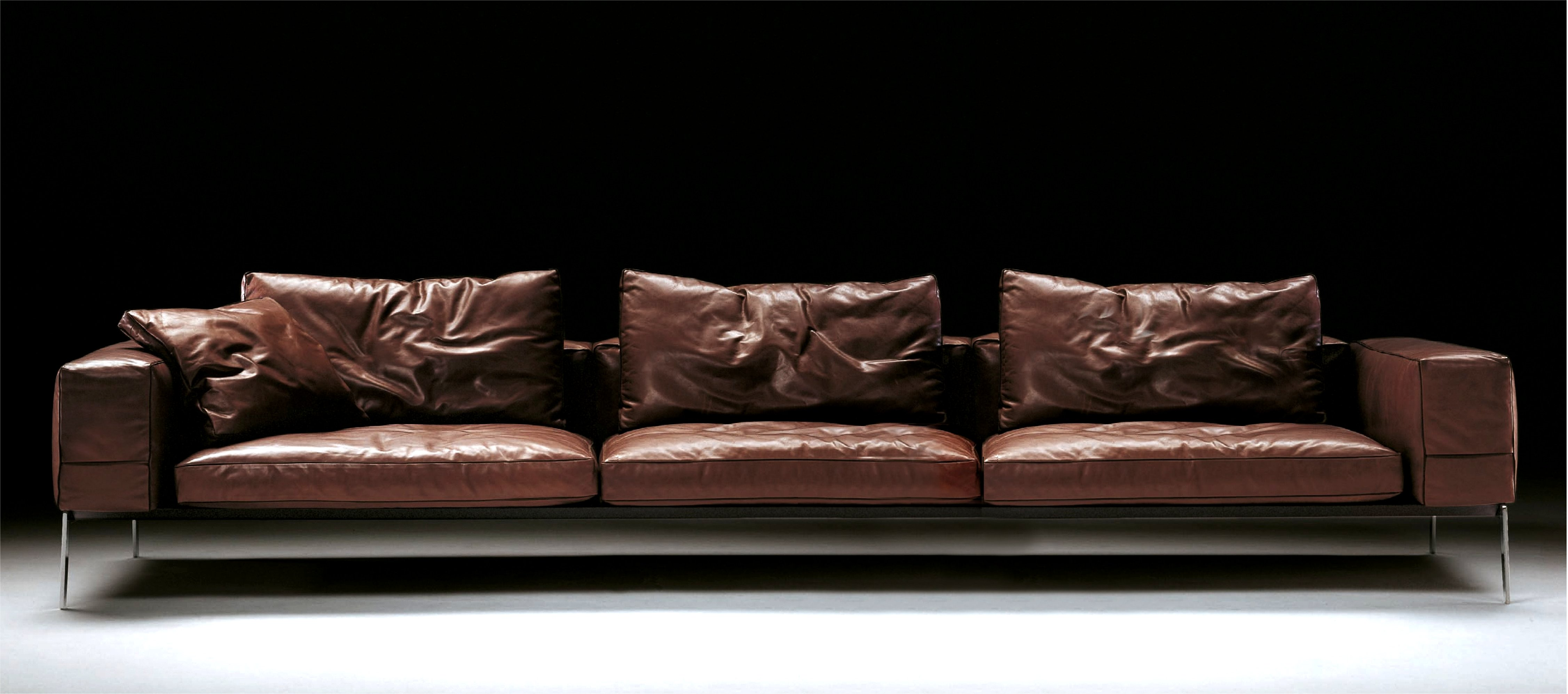 It doesn't get used as much so it doesn't have to be as comfortable. Best Best Quality Leather sofa Photo - Modern Sofa Design ...