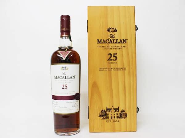 ザ マッカラン 25年 シングル モルト スコッチ ウイスキー