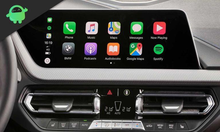 Как сделать снимок экрана на CarPlay?