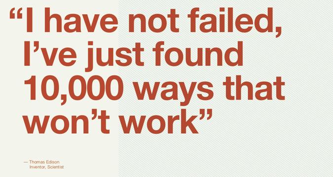 Failing at failing fast