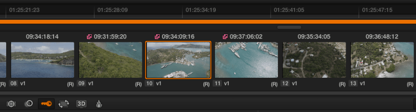 Using remote grades in Resolve