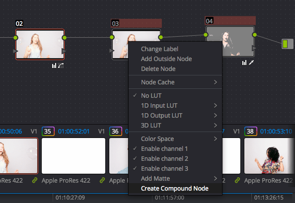 2. Create Compound Node
