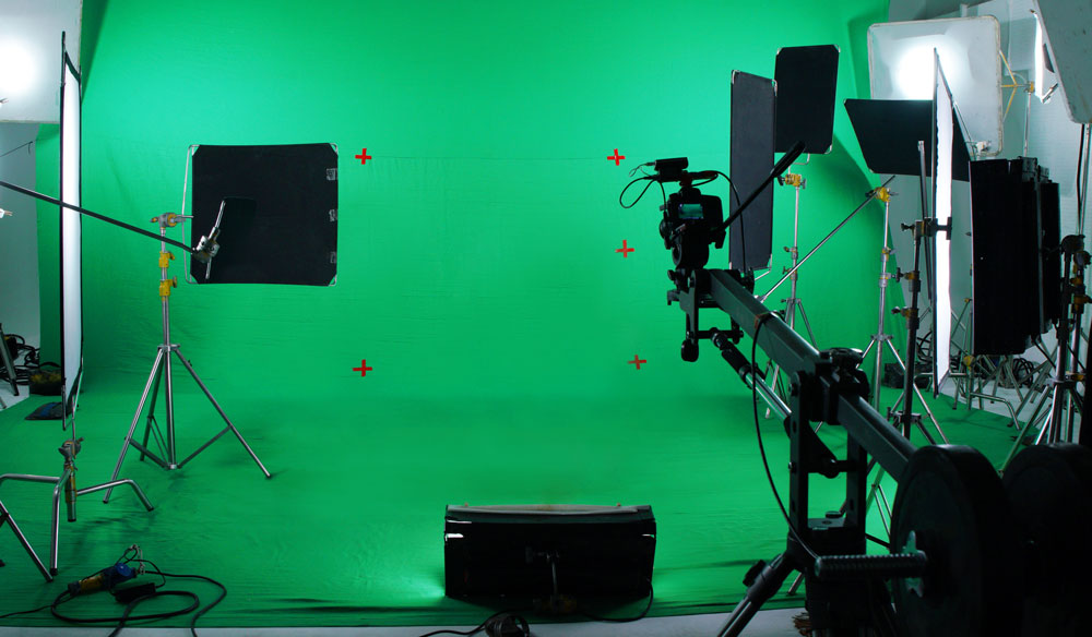chroma key and green screen footage
