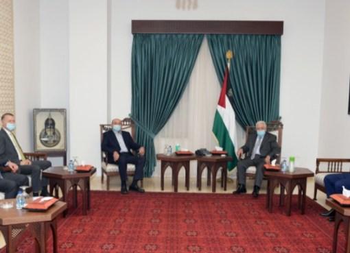 الرئيس يستقبل رجل الأعمال صبيح المصري
