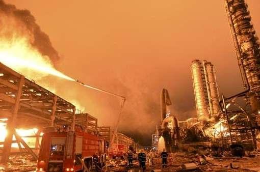 قتلى وجرحى في انفجار بمجمع كيميائي بالصين
