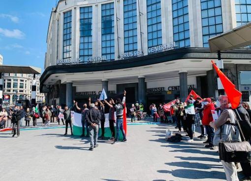 بلجيكا: الجالية الفلسطينية تحيي يوم الأسير