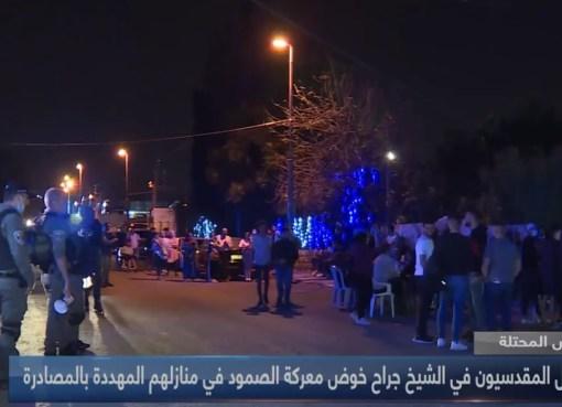 القدس المحتلة: يواصل المقدسيون في الشيخ جراح خوض معركة الصمود في منازلهم المهددة بالمصادرة