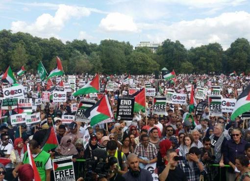 تظاهرات في مختلف أنحاء العالم منددة بالعدوان الإسرائيلي على شعبنا