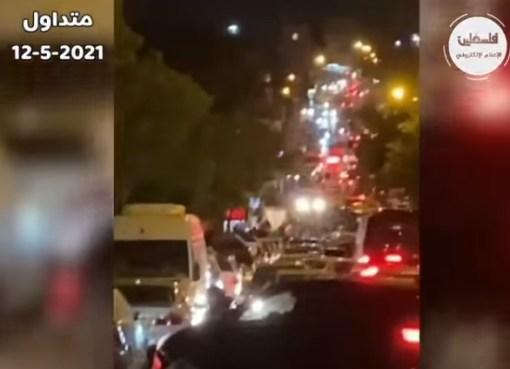 شاهد: مواجهات بين الاحتلال والمواطنين في بلدة الطور بالقدس