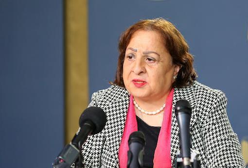 وزيرة الصحة تعلن رفع جهوزية القطاع الصحي الفلسطيني بسبب التصعيد الإسرائيلي
