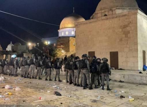 القدس: افتتاح مستشفى ميداني لعلاج المصابين