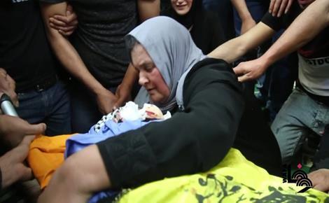 تشييع جثمان الضابط بالمخابرات أحمد ضراغمة إلى مثواه الأخير في نابلس بمراسم عسكرية
