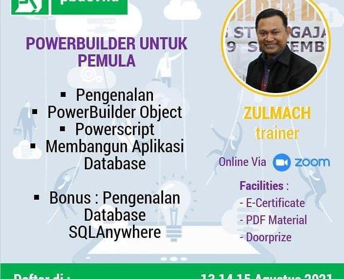 Online Training | Powerbuilder untuk Pemula