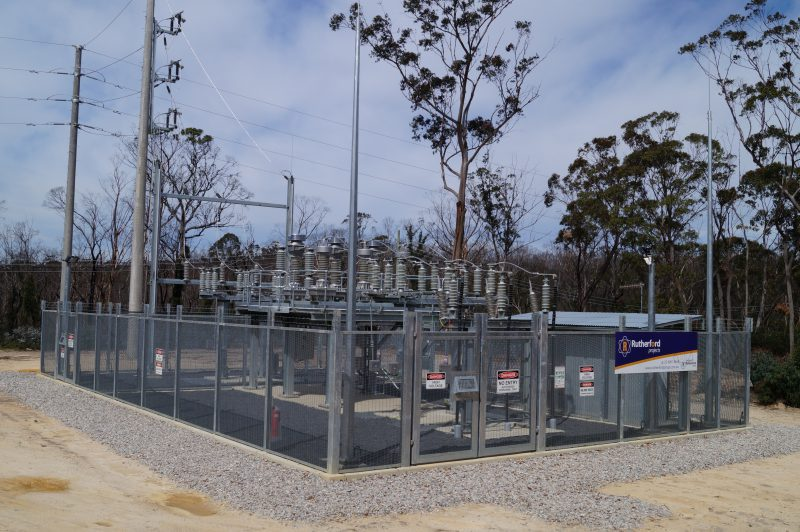 Electrical supply infrastructure and ventilation facility for Australian underground mine extension