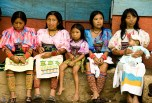 The situation of indigenous and Afro-Colombian women is particularly critical because they are the victims of multiple forms of discrimination. Photo: Marcia Valverde
