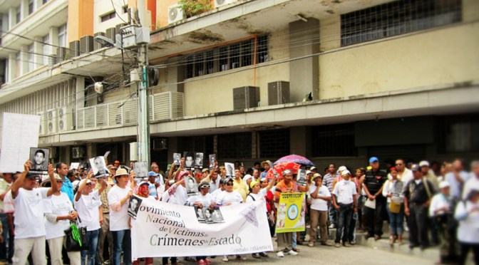 "March 6th in Monteria – International Day for Victims of State Crimes: ""We march for land and against dispossession."""