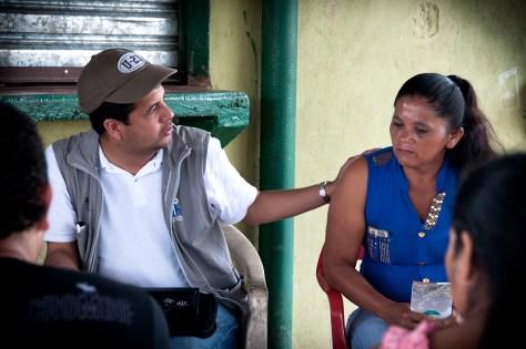 Diego Martínez y Gloria Díaz