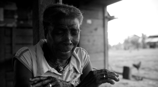 Land rights leader María Ligia tells her story