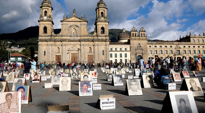 The defence of human rights is a high-risk activity in Colombia