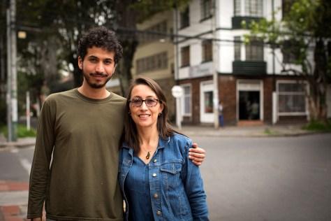 Olga Silva y Sergio