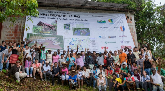 The university for peace, a great legacy of Colombia's diversity