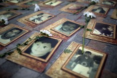"""We won´t forget the people who were forcibly disappeared once peace has arrived"", say the families who have had their loved ones taken away from them."