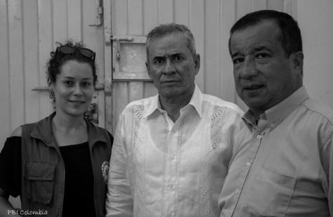 Reinaldo Villalba, David Ravelo, Silvia Asenjo