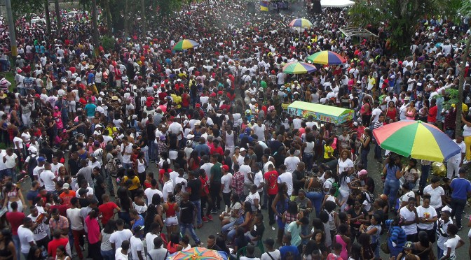 Eighteen days of public protests show another side to Buenaventura