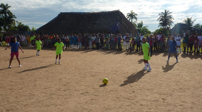 Mapiripán, part three: Football for dignity