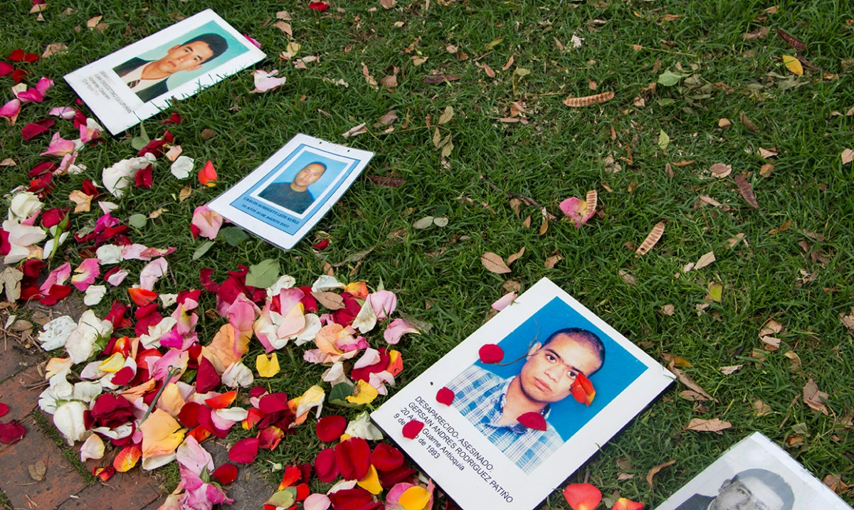 Remembering forced disappearence in Colombia