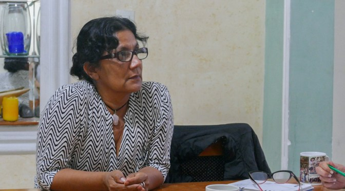 """Human rights will always be disputed"": Olga Araújo"