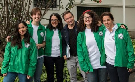 Foto grupo y José
