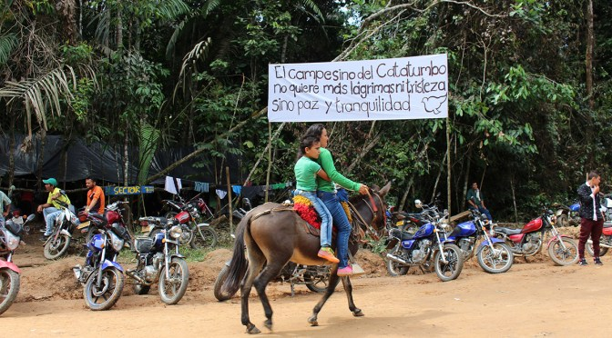 2006: Lawyer's collective accompanies resistance in Catatumbo