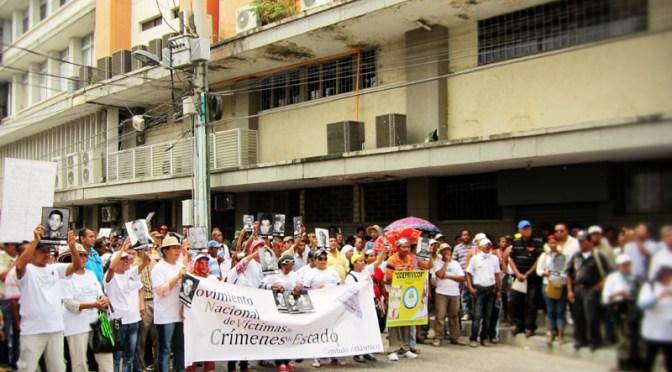 6 de marzo en Montería – Día Mundial de las Víctimas de Crímenes de Estado: «Marchamos por el territorio y contra el despojo»