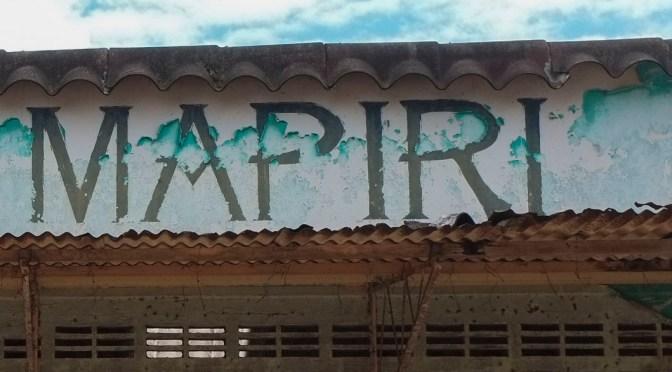 Derechos territoriales en Mapiripán