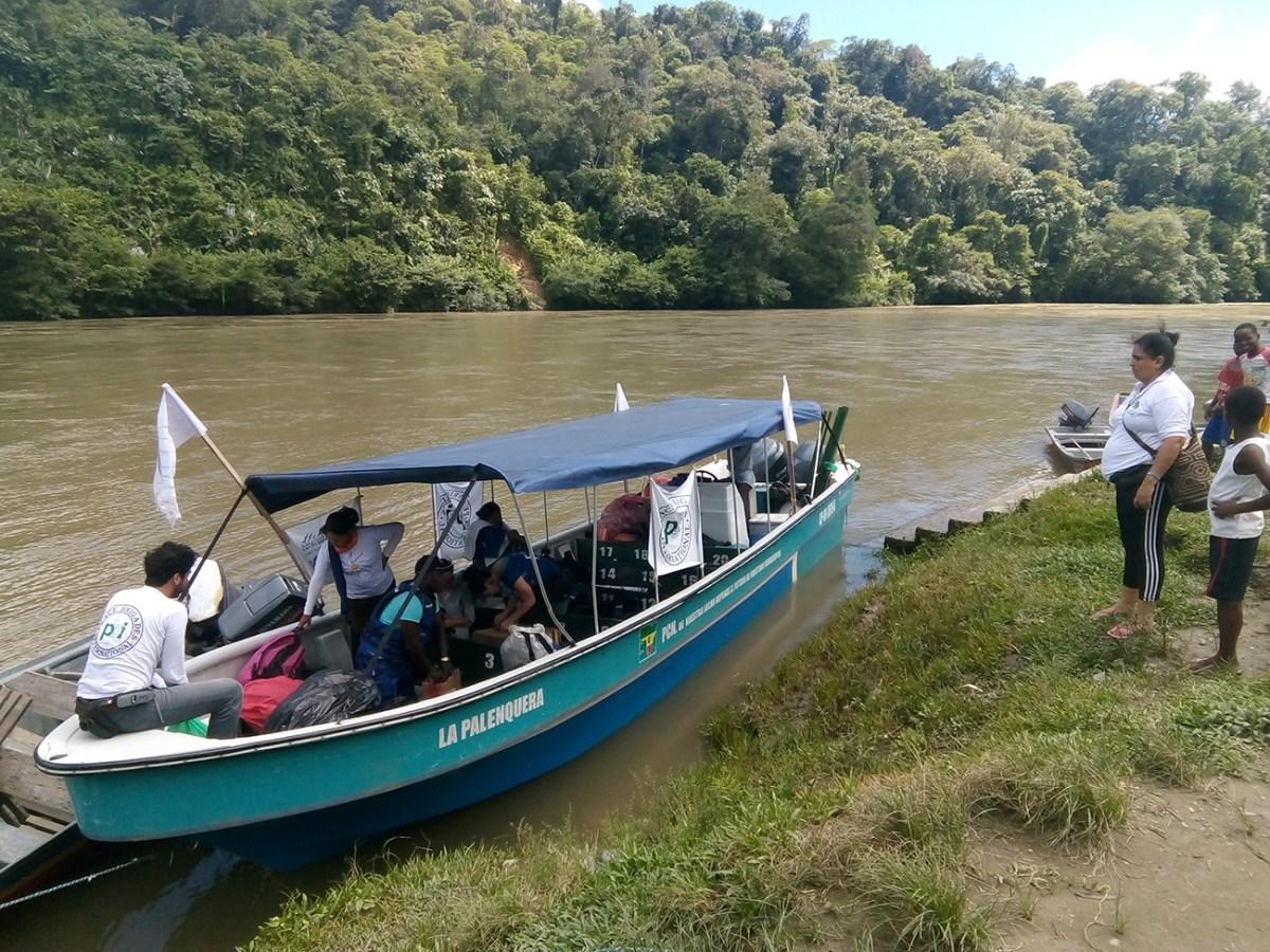 Resistir en las aguas del Naya