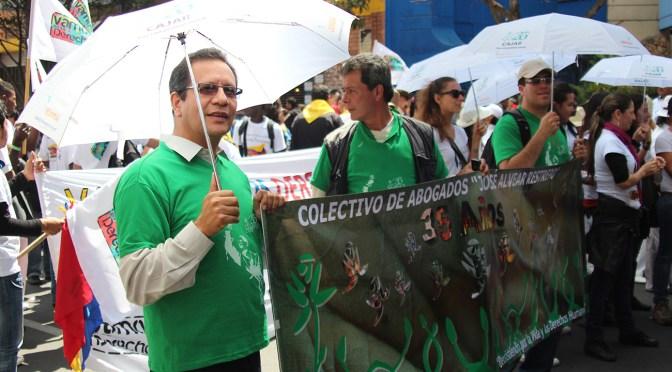"""""""Tenemos interés en que la persecución política se reconozca  como crimen de lesa humanidad"""" – Luis Guillermo Peréz"""